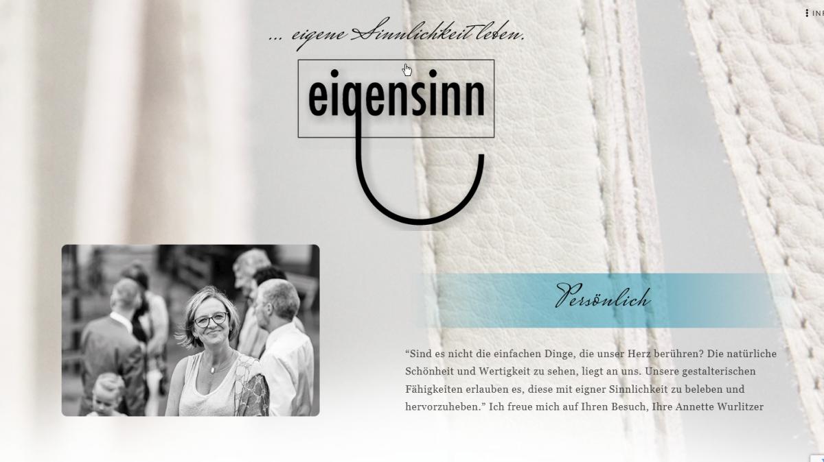 Eigensinn Schwarzenberg – … eigene Sinnlichkeit leben.