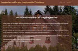 Landgasthof und Pension Erzgebirgsstuebel Tellerhaeuser _ Pension mit