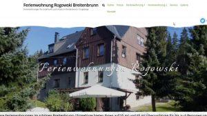 Urlaub im Breitenbrunn Erzgebirge Ferienwohnung Rogowski